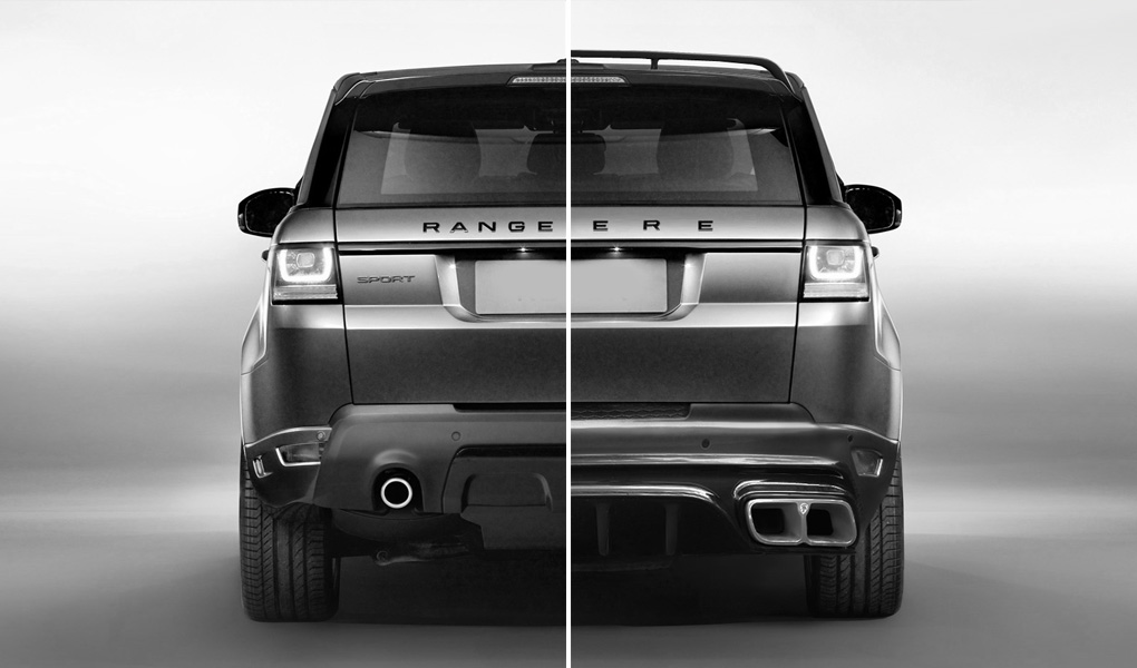 Revere HSR System Rear for the Range Rover Sport