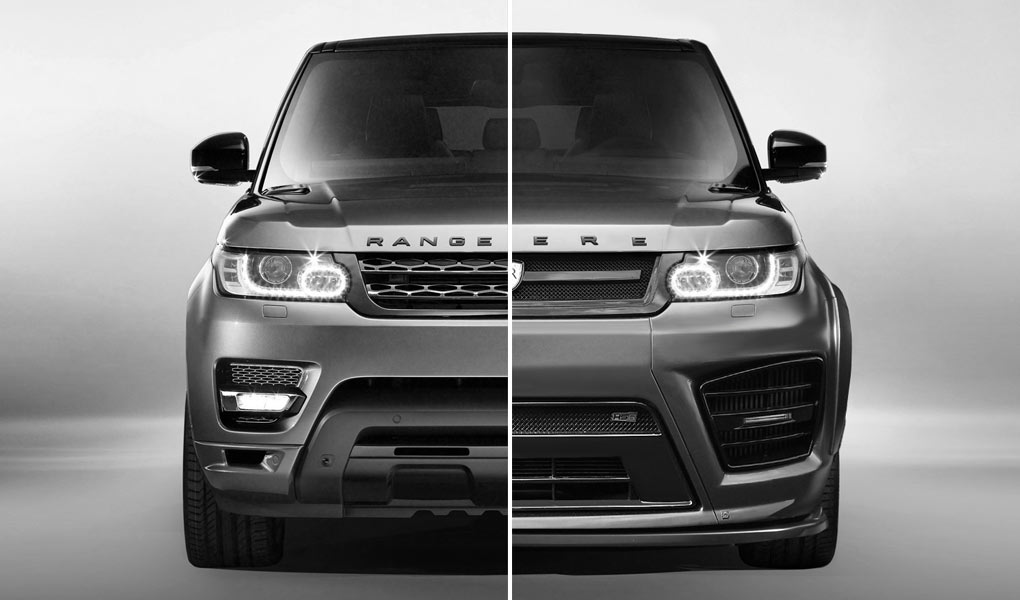 Revere HSR Wide Body System Front for the Range Rover Sport