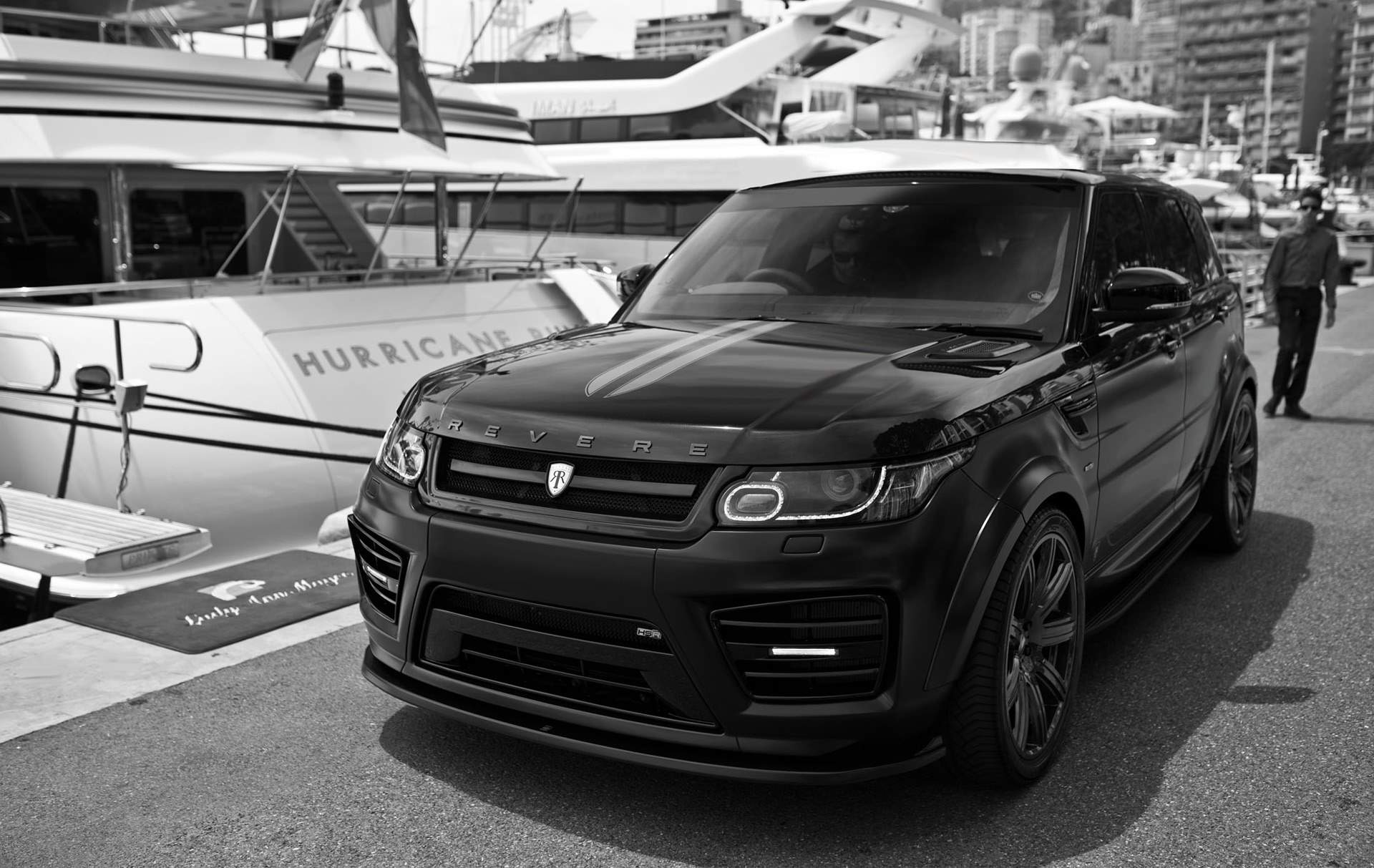 Revere HSR Wide Body Conversion for the Range Rover Sport