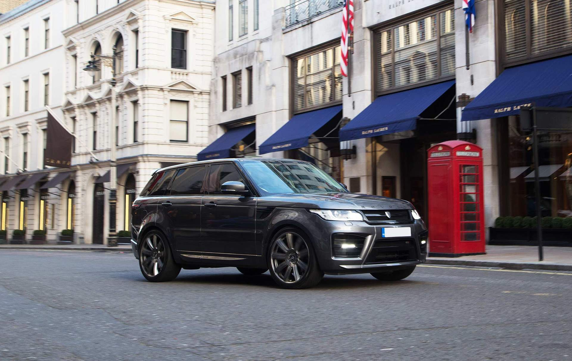 Revere HSR Conversion for the Range Rover Sport